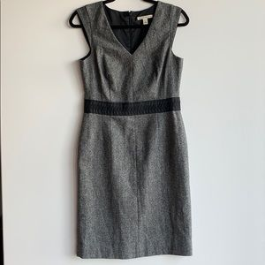 Banana Republic Grey Dress Size 2 Wool